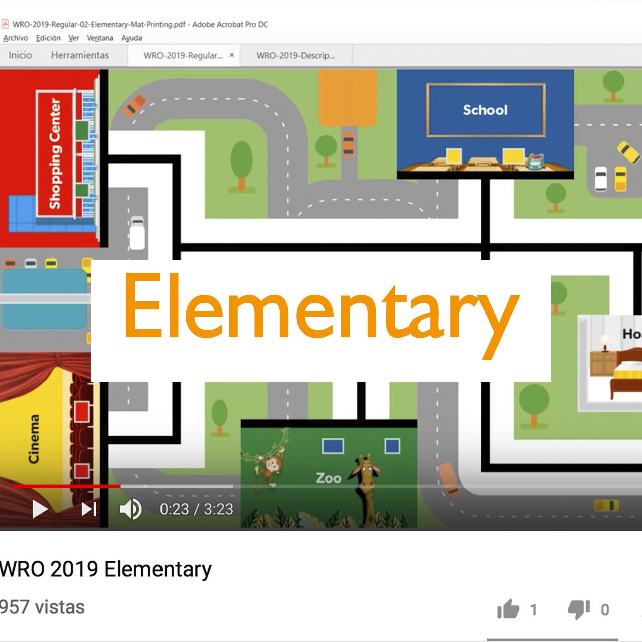 WRO México | Video Elementary