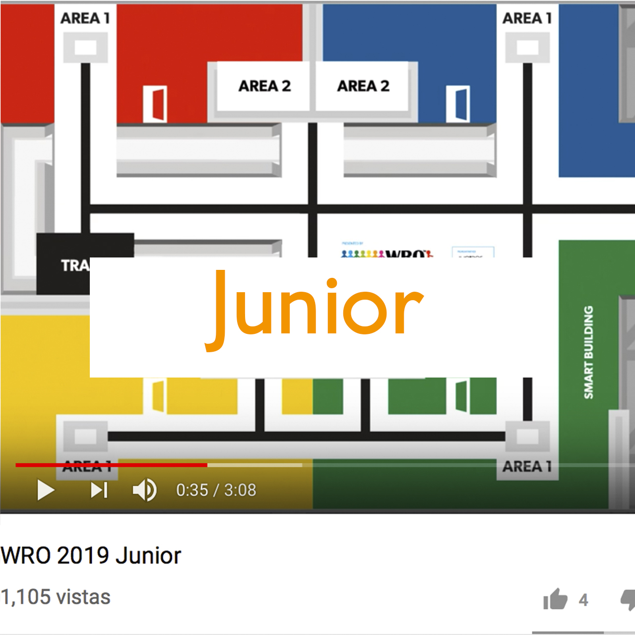 WRO México | Video Junior