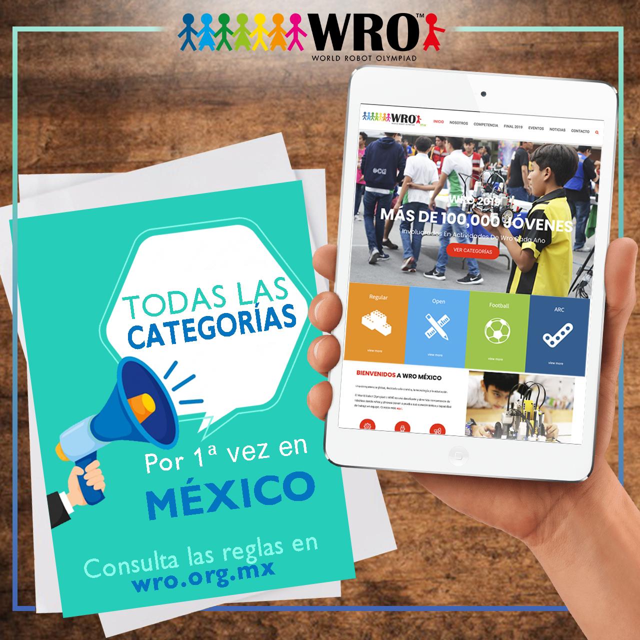 WRO MÉXICO | Todas las categorías