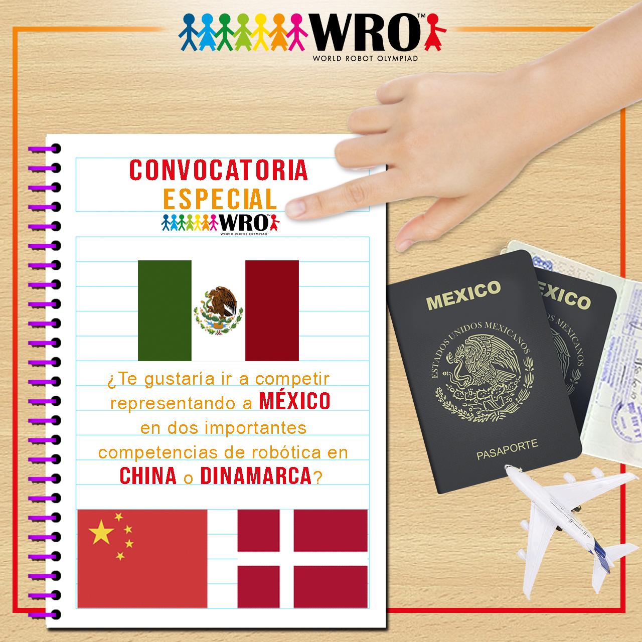 WRO México | Convocatoria Especial