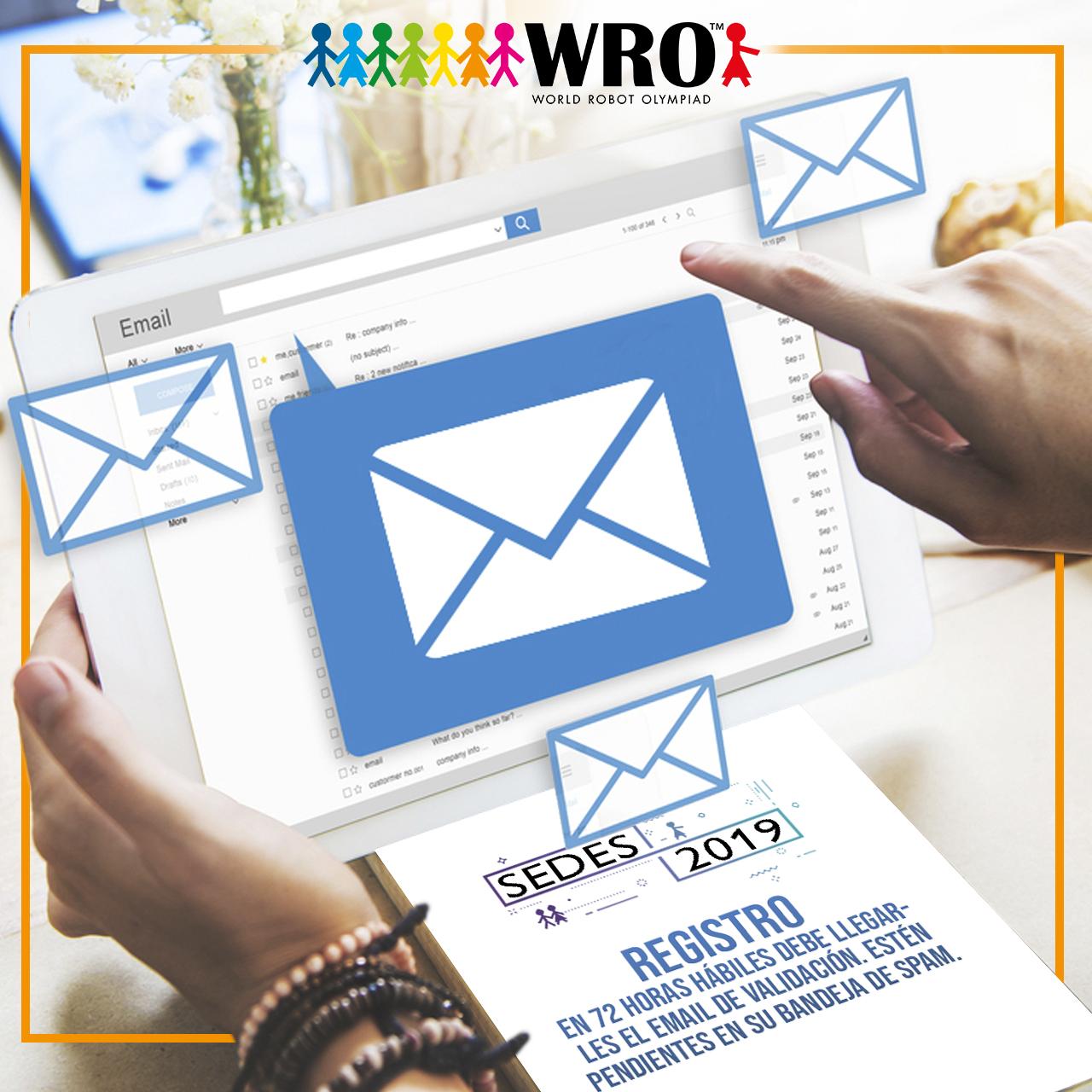 WRO México | E-mail de validación Registro