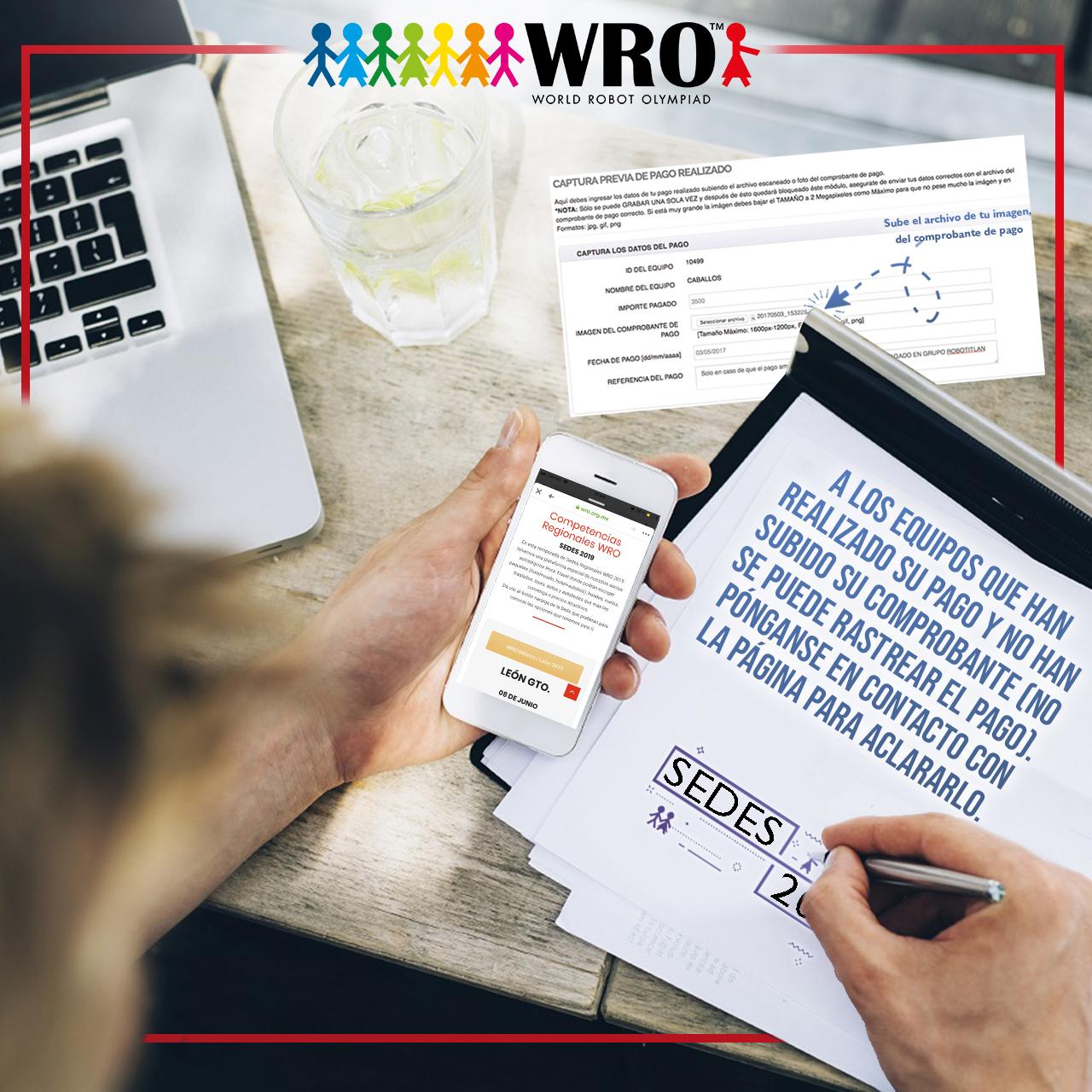 WRO México | Comprobante de pago