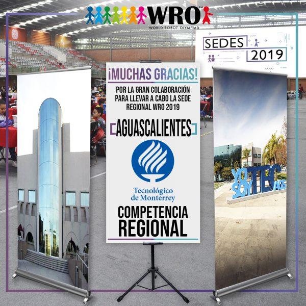 WRO 2019 Agradecimiento Sede Aguascalientes