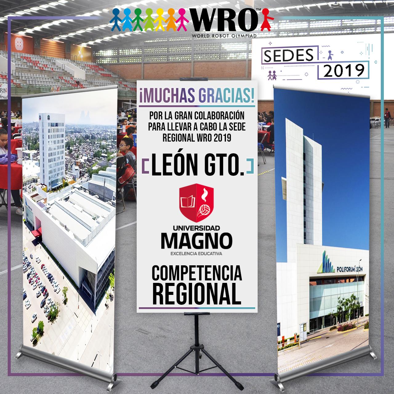 WRO México | Agradecimiento León