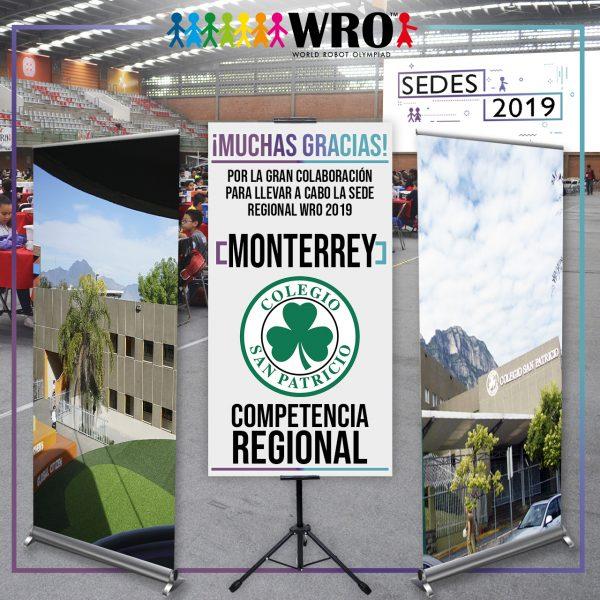 WRO 2019 Agradecimiento Sede Monterrey