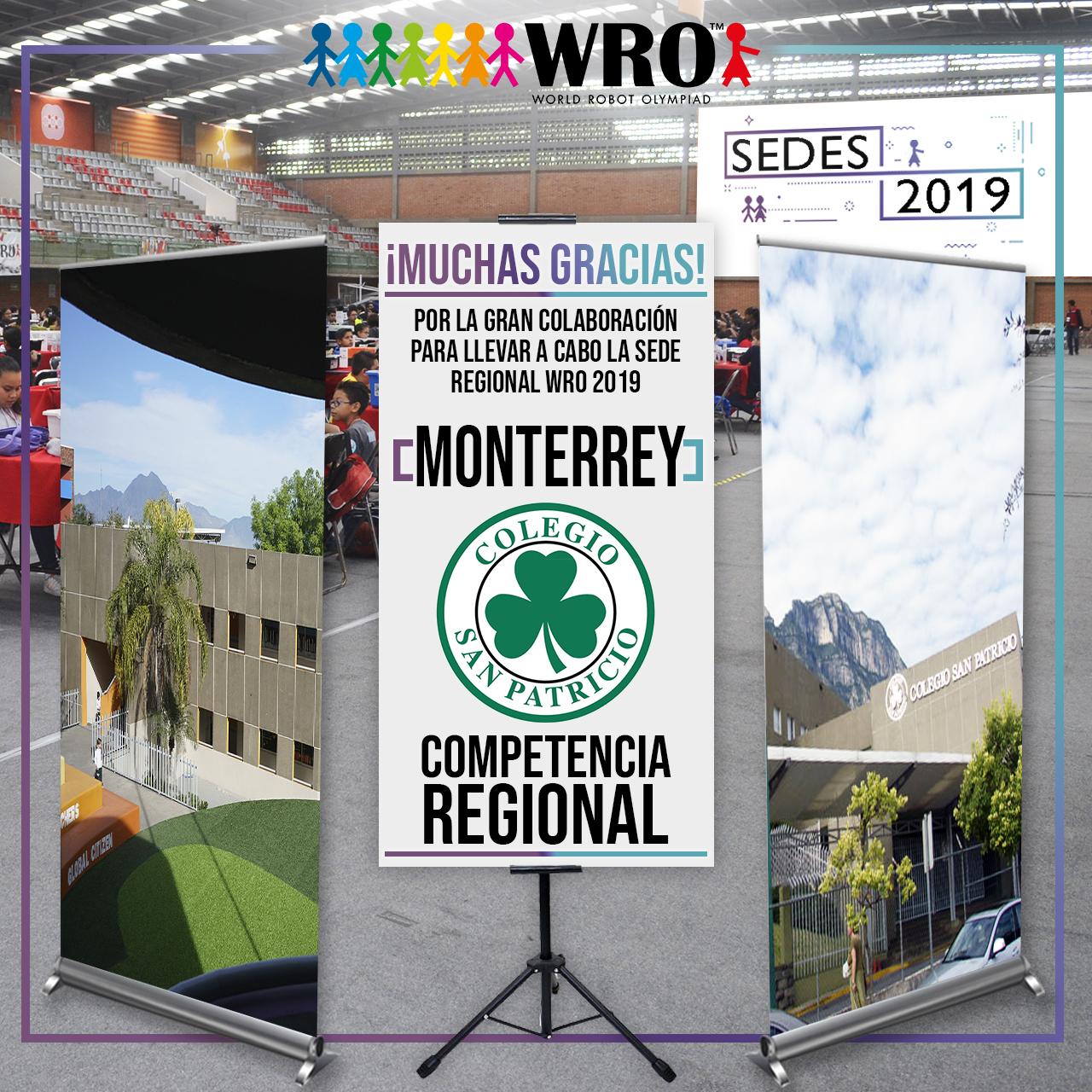 WRO México | Agradecimiento Monterrey