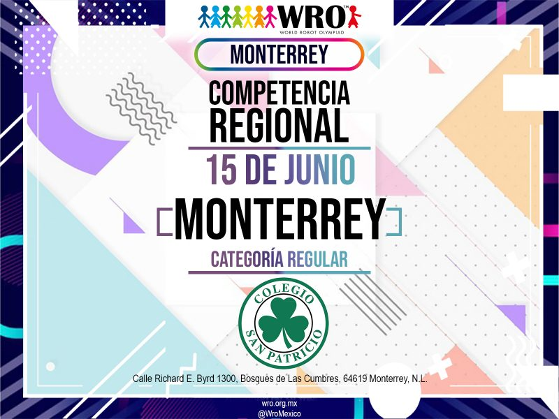 WRO 2019 Marco Sede Monterrey 1