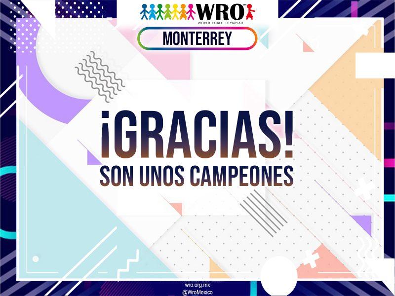 WRO 2019 Marco Sede Monterrey 65
