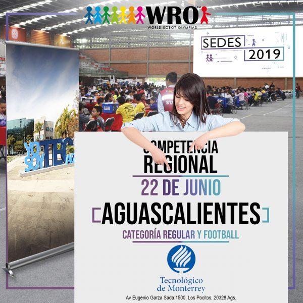 WRO 2019 Sede Aguascalientes