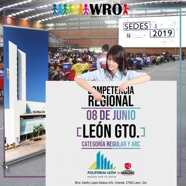 WRO 2019 Sede León