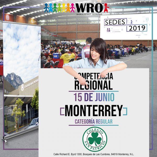 WRO 2019 Sede Monterrey