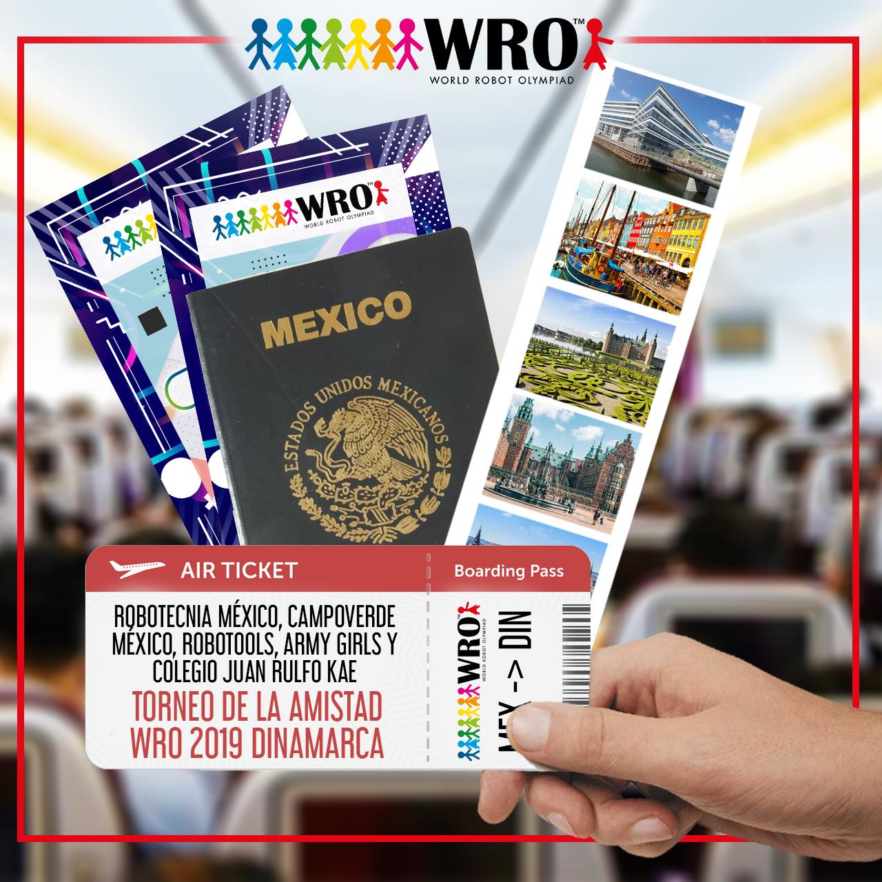WRO México | Dinamarca equipos