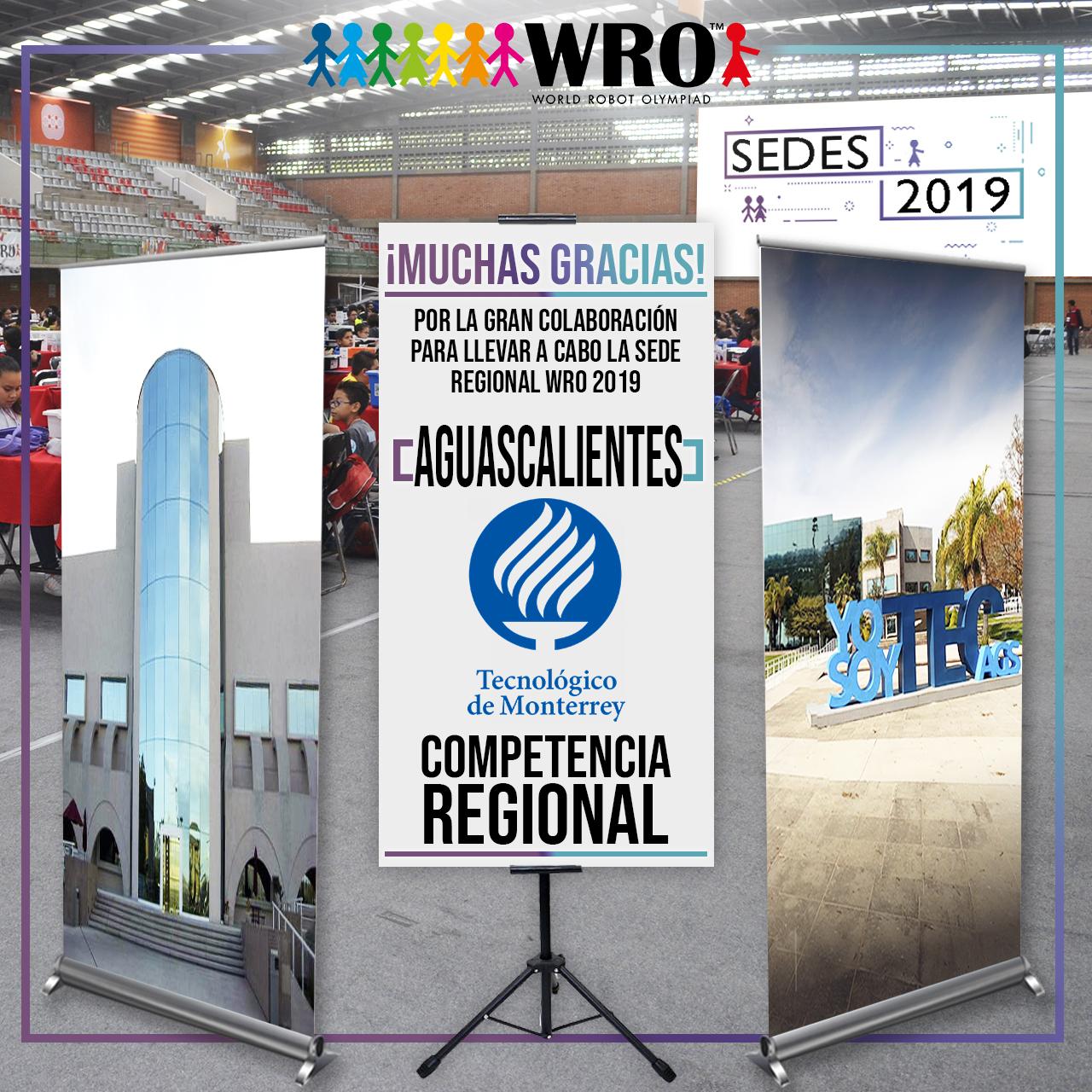 WRO México | Agradecimiento Aguascalientes