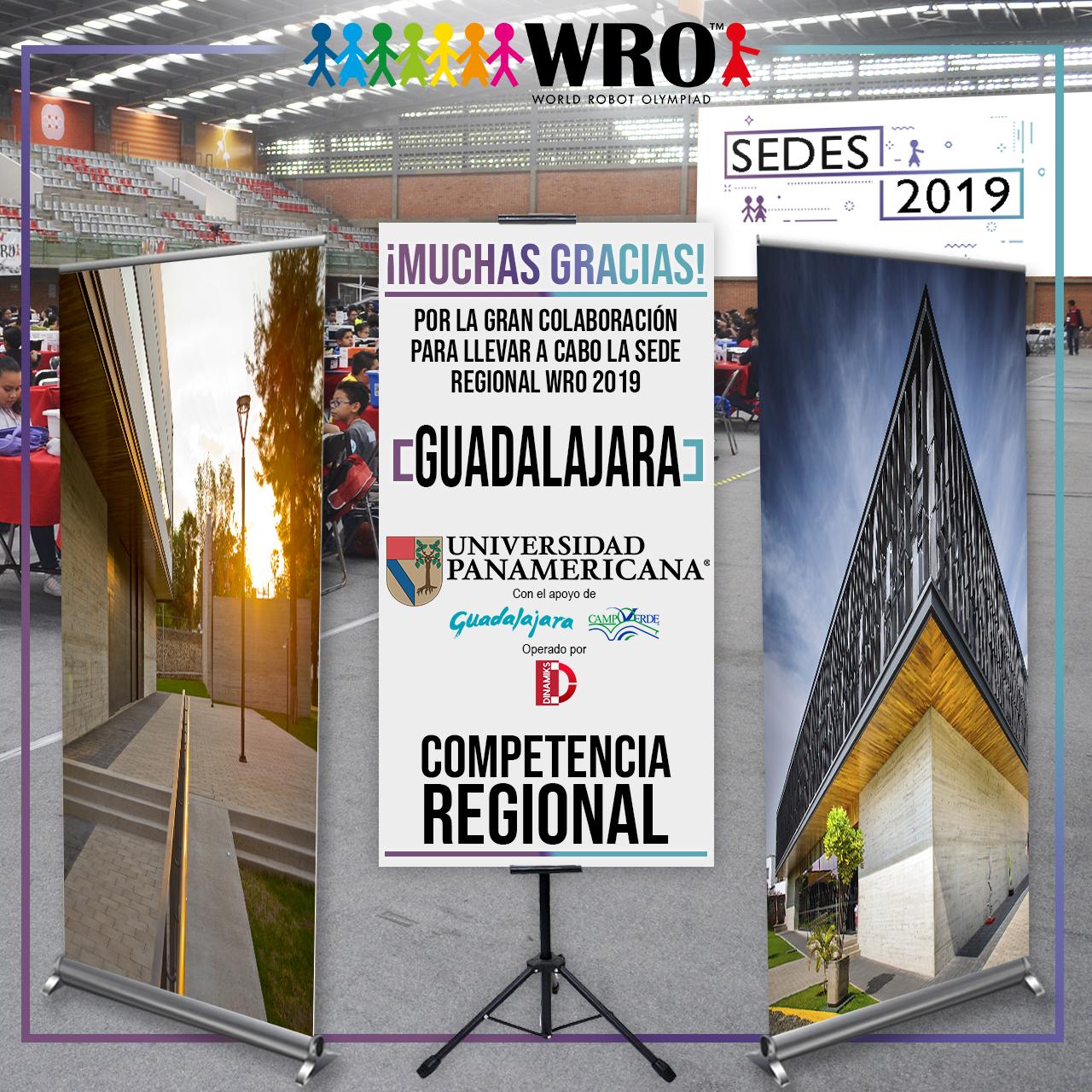 WRO México | Agradecimiento Sede Guadalajara