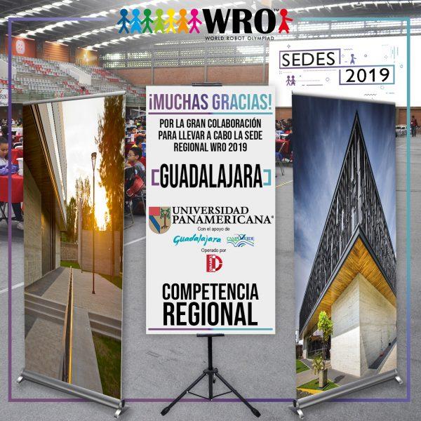 WRO 2019 Agradecimiento Sede Guadalajara