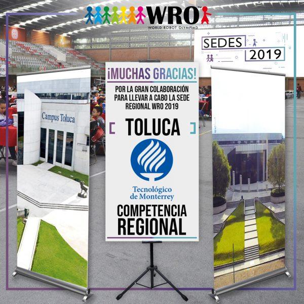 WRO 2019 Agradecimiento Sede Toluca