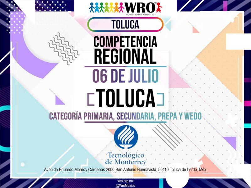 WRO 2019 Marco Sede Toluca 1
