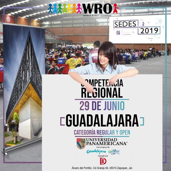 WRO 2019 Sede Guadalajara