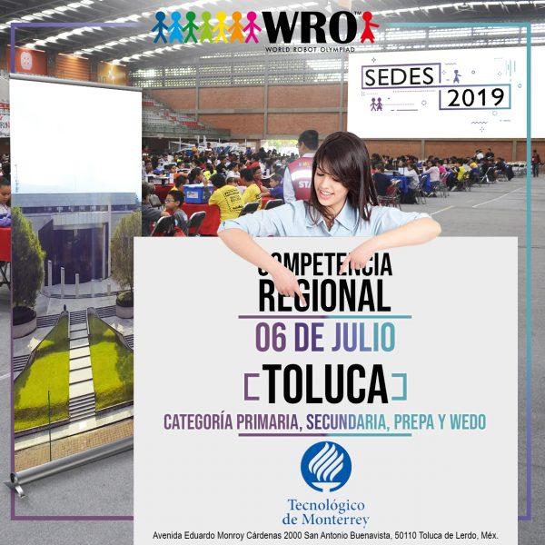 WRO 2019 Sede Toluca