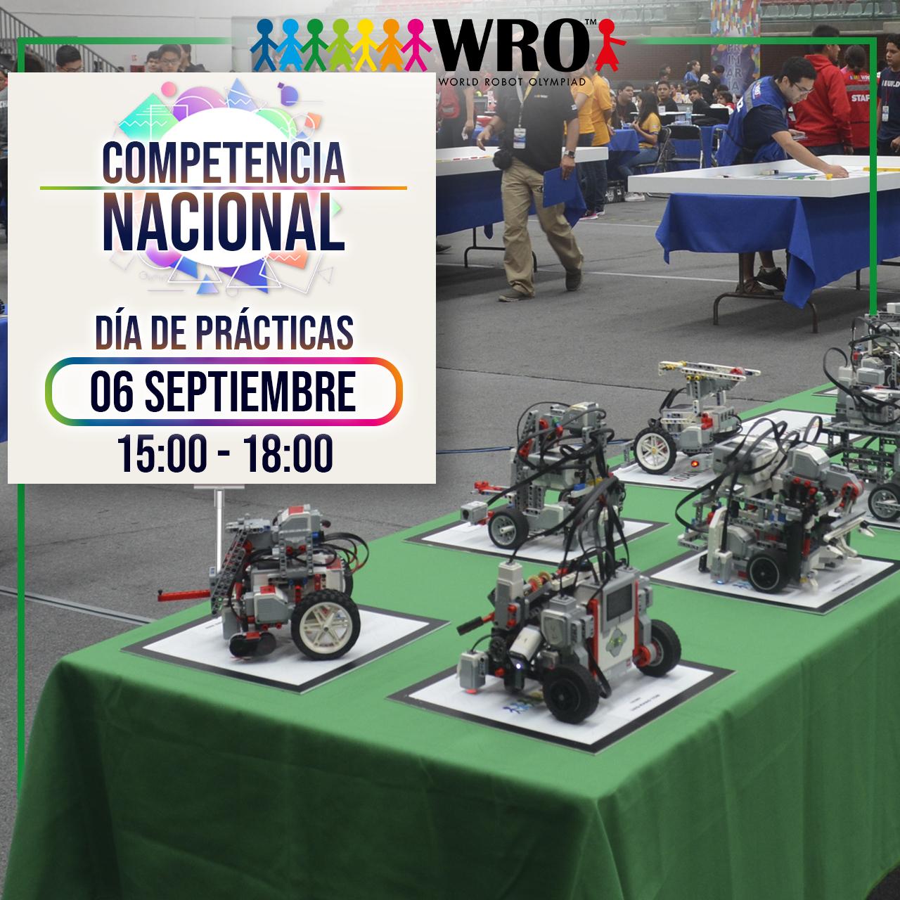 WRO México | Día de prácticas