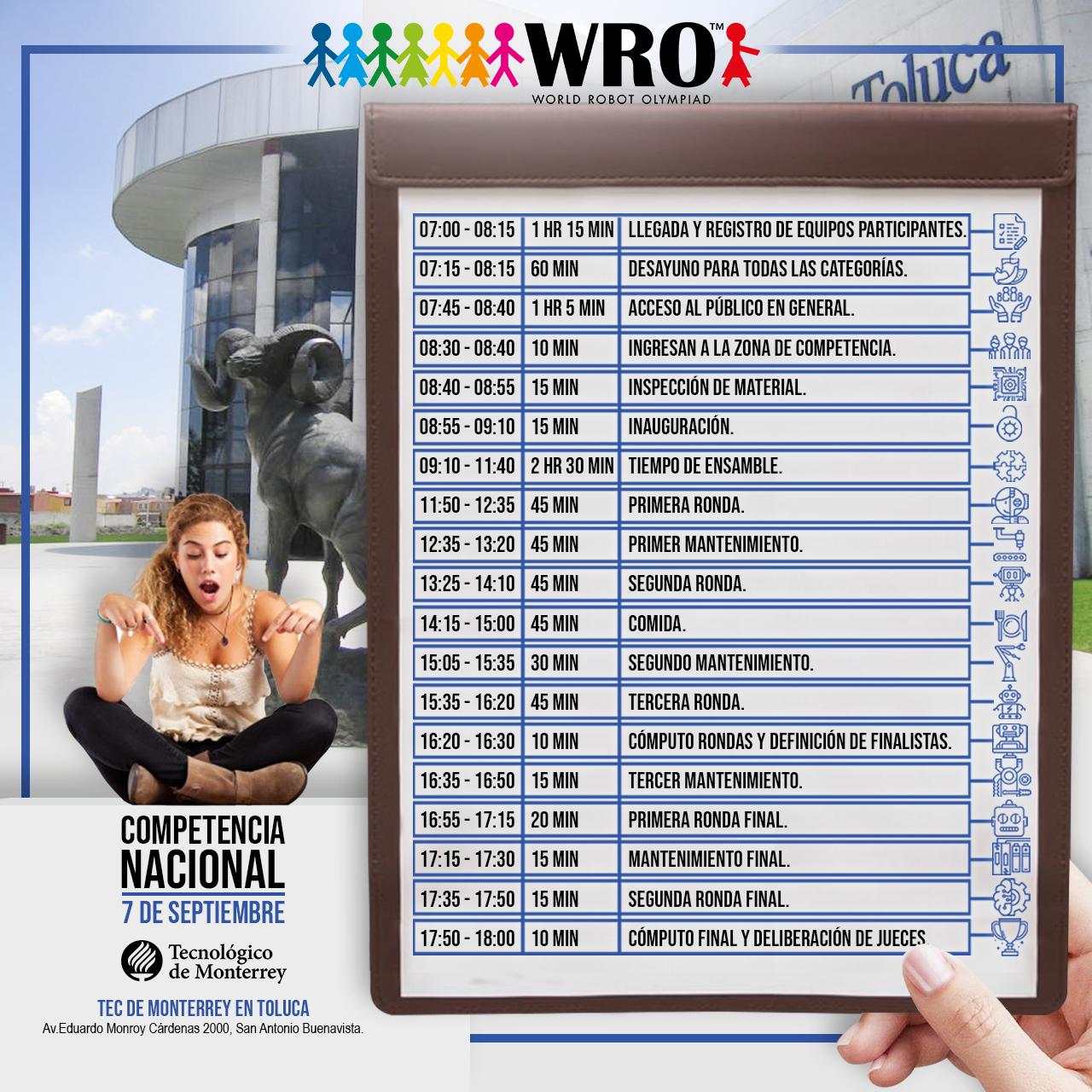 WRO México | Programa Nacional